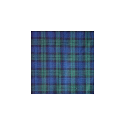 Watch Plaid Bed Skirt / Dust Ruffle Size: King