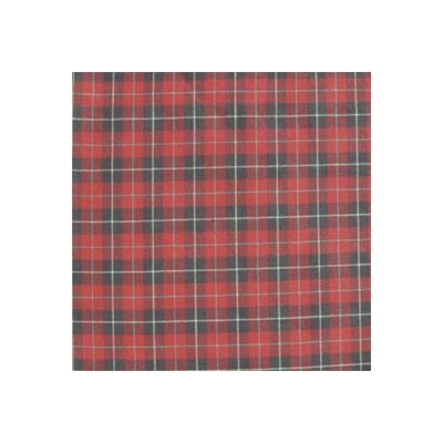 Plaid Bed Skirt / Dust Ruffle Size: King