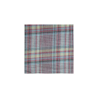 Plaid Bed Skirt / Dust Ruffle Size: Queen