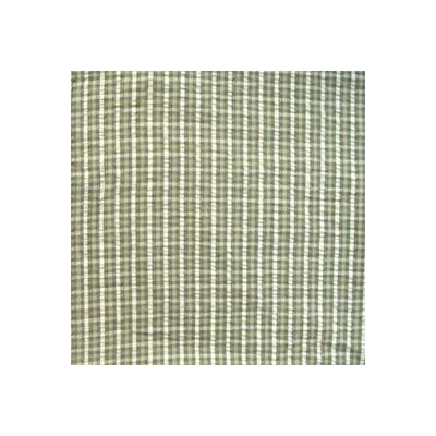 Checks with Ecru Bed Skirt / Dust Ruffle Size: Queen