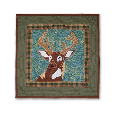 Whitetail Grove Cotton Throw Pillow