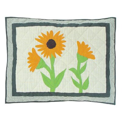 Yellow Field Pillow Sham