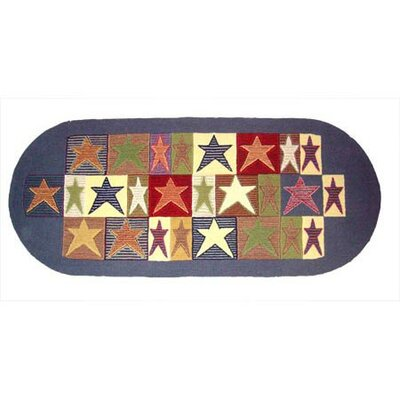 Allstar Fire Place Area Rug Rug Size: Runner 26 x 6