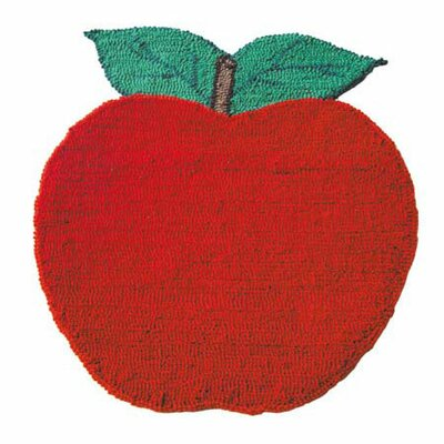 Apple Cart Area Rug Rug Size: Apple 18 x 2