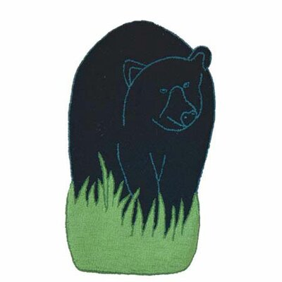 Bear Country Area Rug Rug Size: Bear 17 x 28
