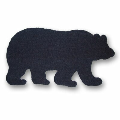 Bears Paw Area Rug Rug Size: Novelty 25 x 44