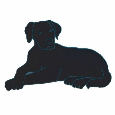 Black Lab Area Rug Rug Size: Dog 21 x 32