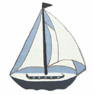 Nautical Area Rug Rug Size: Boat 23 x 3
