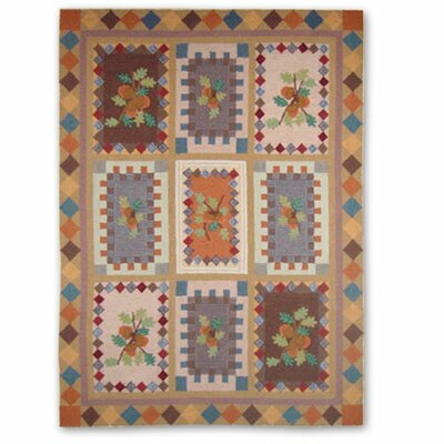 Acres of Acorns Area Rug Rug Size: Rectangle 310 x 51