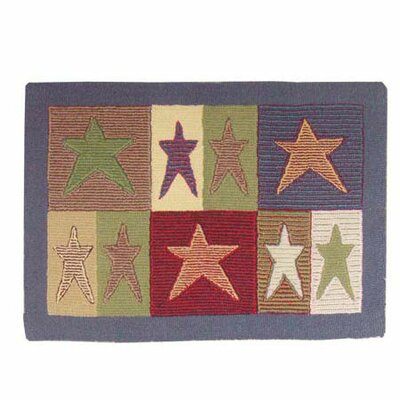 Allstar Fire Place Area Rug Rug Size: Rectangle 2' x 3'