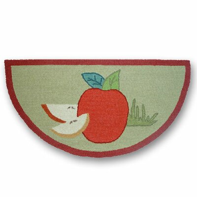 Apple Cart Fire Place Area Rug