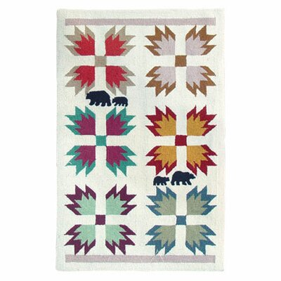 Bears Paw Area Rug Rug Size: Rectangle 29 x 44
