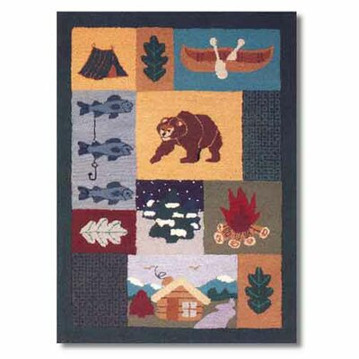 Cabin Area Rug Rug Size: Rectangle 310 x 51