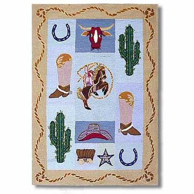 Cowboy Kids Area Rug Rug Size: Rectangle 310 x 51