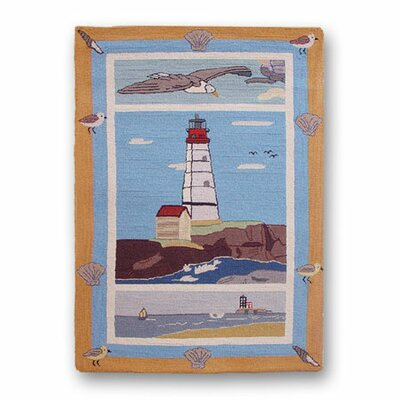 Lighthouse By Bay Kids Area Rug Rug Size: Rectangle 29 x 44