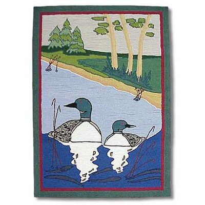 Loon Green Kids Area Rug Rug Size: 310 x 51
