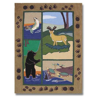 Wilderness Area Rug Rug Size: Rectangle 310 x 51