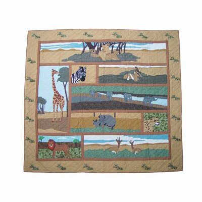 Safari Cotton Shower Curtain