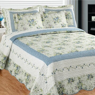 Mayflower Dawn 3 Piece Quilt Set Size: Super King