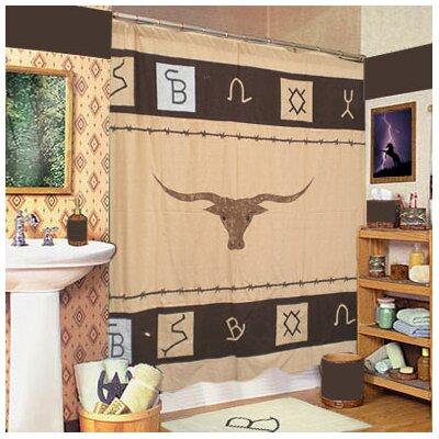 Brand Cotton Shower Curtain