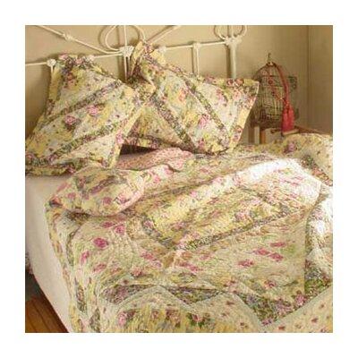 April Garden Quilt Size: Full / Queen