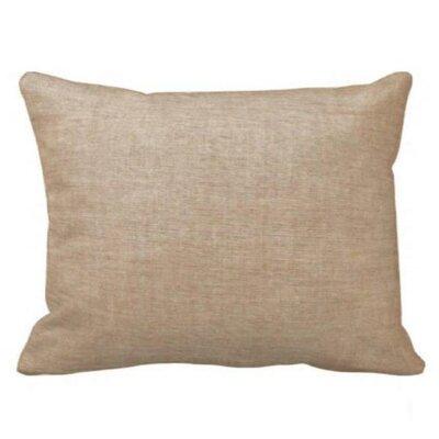 Brown Light / Golden Chambray Pillow Sham