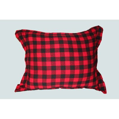 Twill Buffalo Check Cotton Pillow Sham