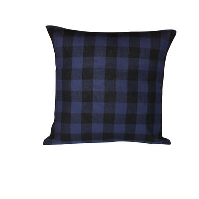 Twill Buffalo Cotton Throw Pillow