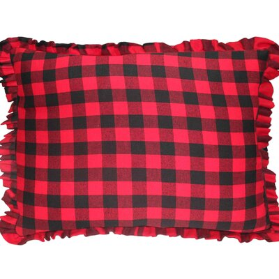 Twill Buffalo Check Pillow Sham