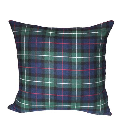 Tartan Plaid Cotton Throw Pillow