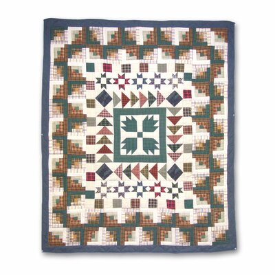 Bear Creek Cotton Throw Quilt