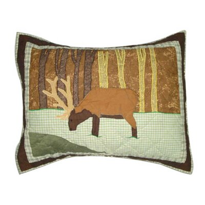 Brown Elk Pillow Sham