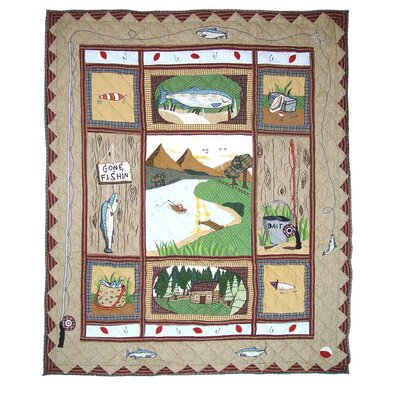 Plainsboro Cotton Throw Quilt