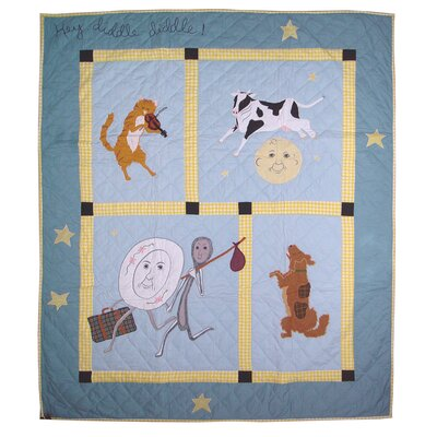 Hey Diddle Diddle Throw Quilt