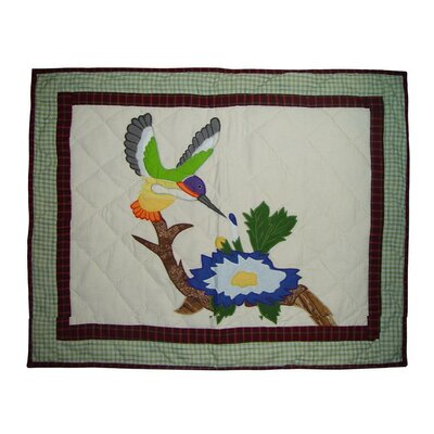 Hummingbird Garden Pillow Sham