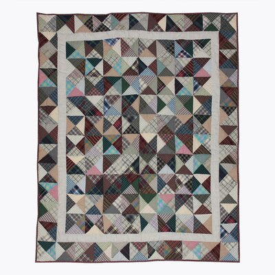 Kaleidoscope Cotton Throw Quilt