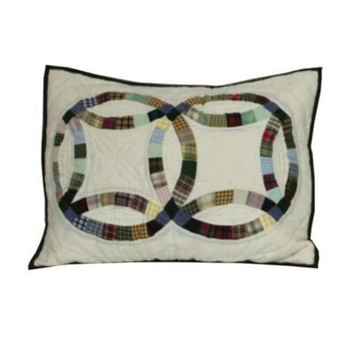 Country Wedding Ring Pillow Sham