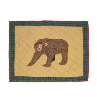 Cabin Bear Pillow Sham