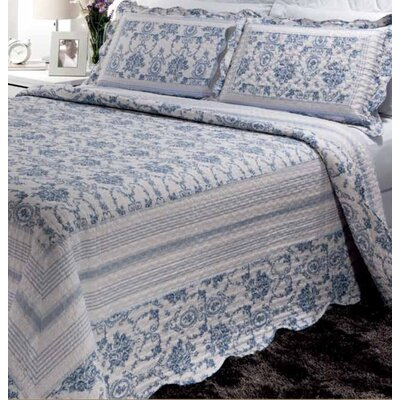 Wisteria Lattice Quilt Set Size: King