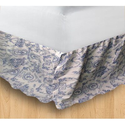 Wisteria Lattice Bed Skirt Size: King