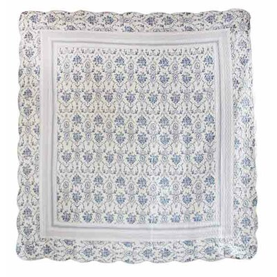 Wisteria Lattice Twin Throw Blanket