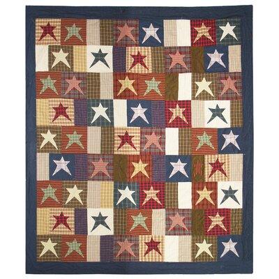 Home Spun Star Cotton Quilt