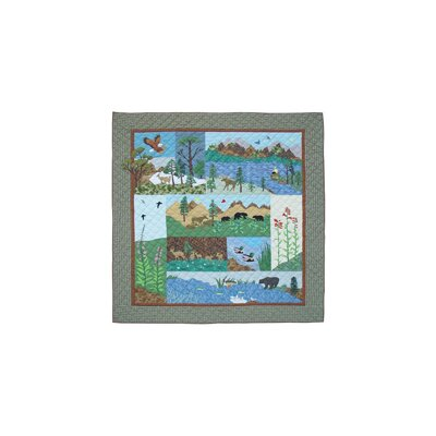 Natures Splendor Cotton Twin Quilt