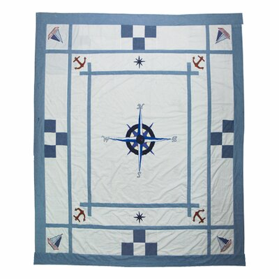 Star of the Sea Cotton Twin Quilt