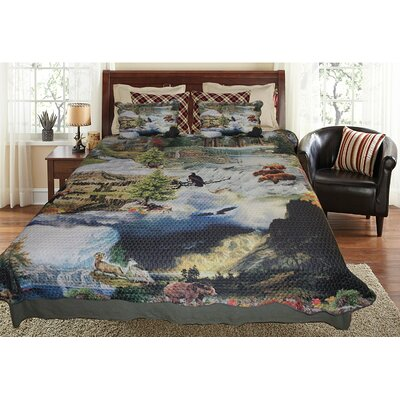 Wilderness Reversible Quilt Set Size: Super King