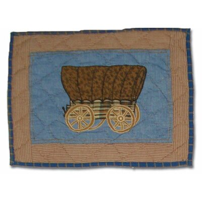 Cowboy from Patch Magic Hand Quilted Cotton Boudoir Pillow