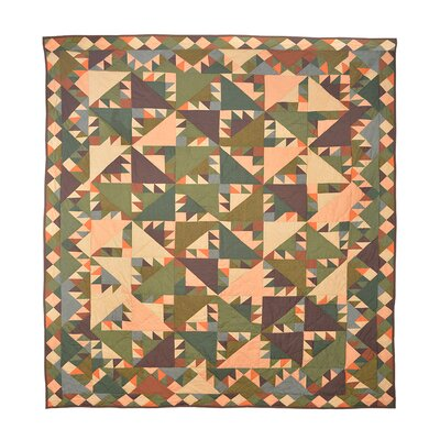 Sun Spirit Quilt Size: Full / Queen