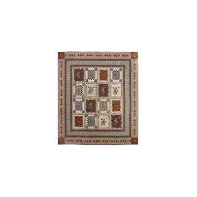 Peter Acres of Acorns Quilt Size: Twin