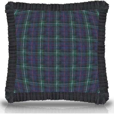 Avila Ruffled Throw Pillow Size: 16