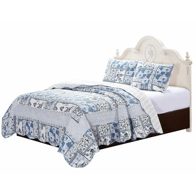 Byrne Quilt Set Size: Super Queen